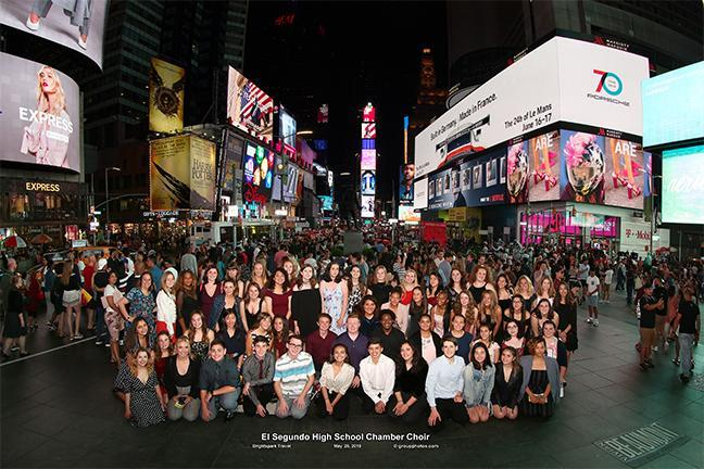 ESHS Choir Goes to New York Featured Photo