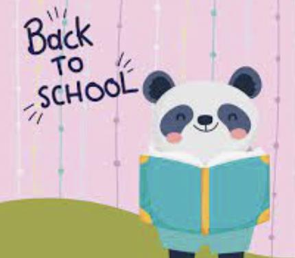Back to School Night Panda