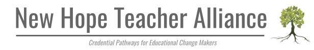New Hope Teacher Alliance: Credential Pathways for Educational Change Makers