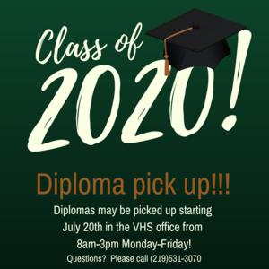 Diploma pick up