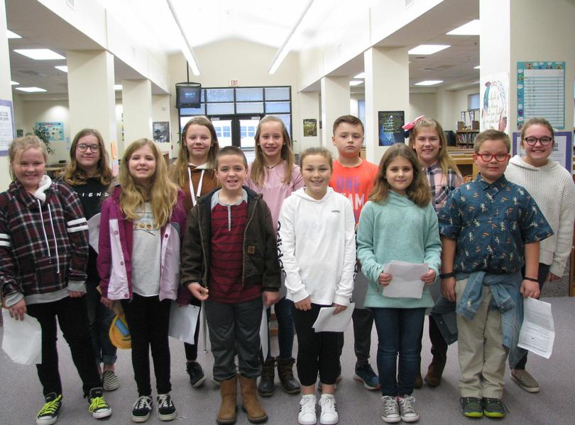 5th Grade Student Council Candidates