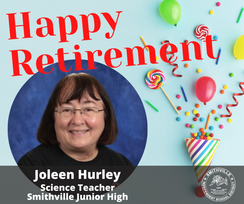 Retiree Joleen Hurley