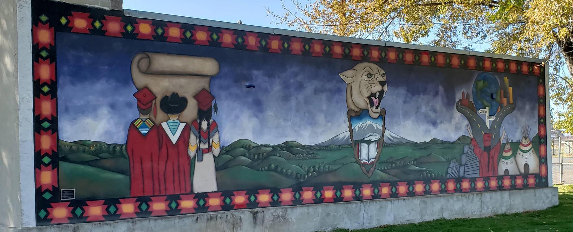MAMS Graduation Mural