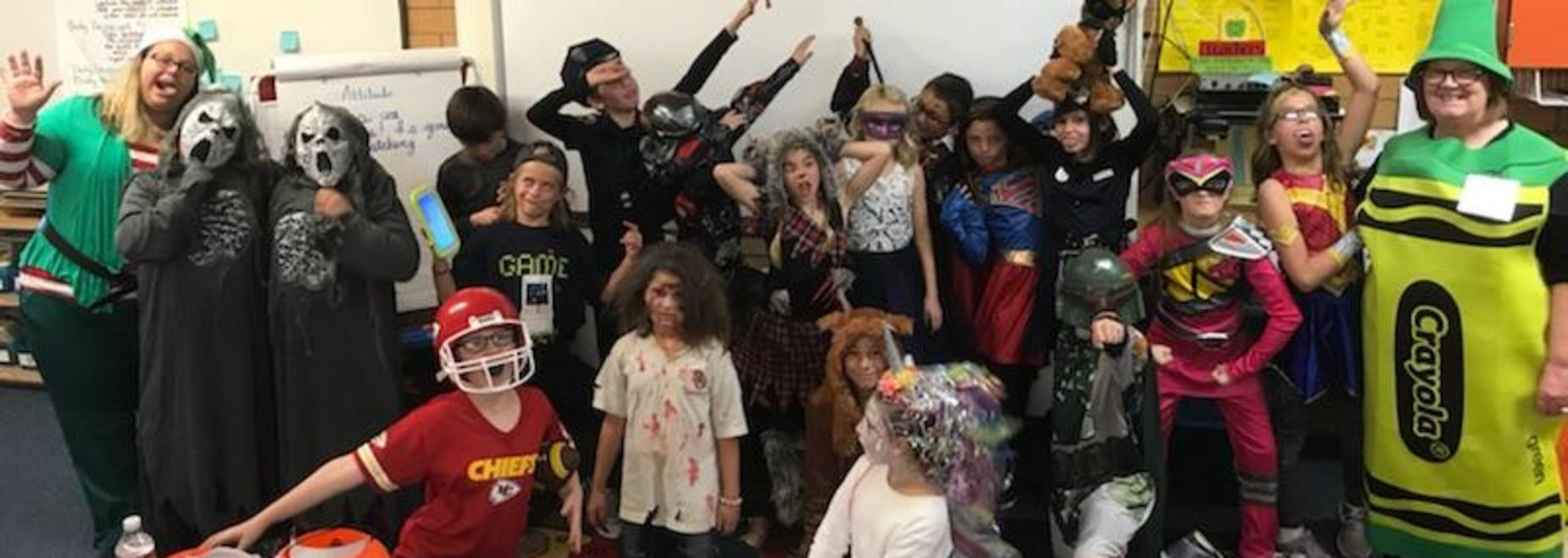 Mrs. Shea's Fun Halloween Party!