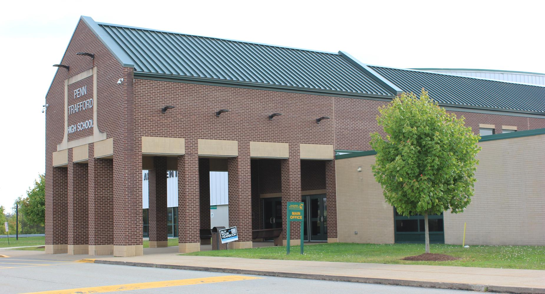 High School main entrance