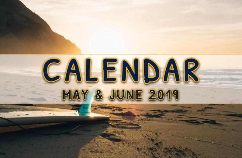 May & June 2019 School Calendar