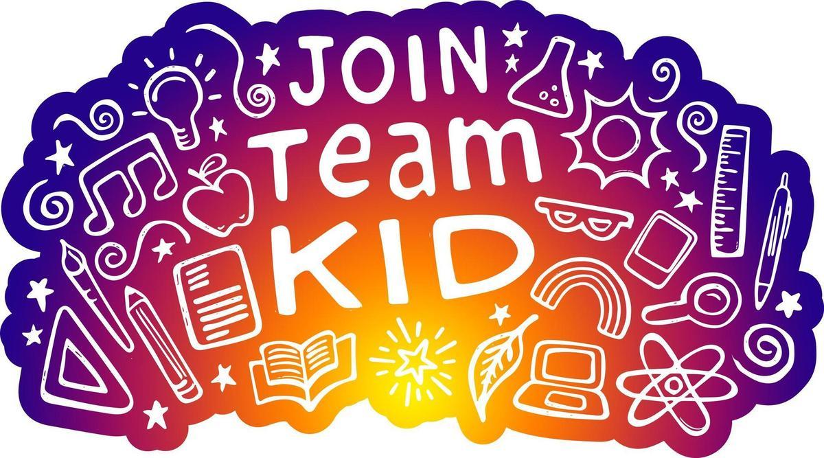 Join Team Kid Logo
