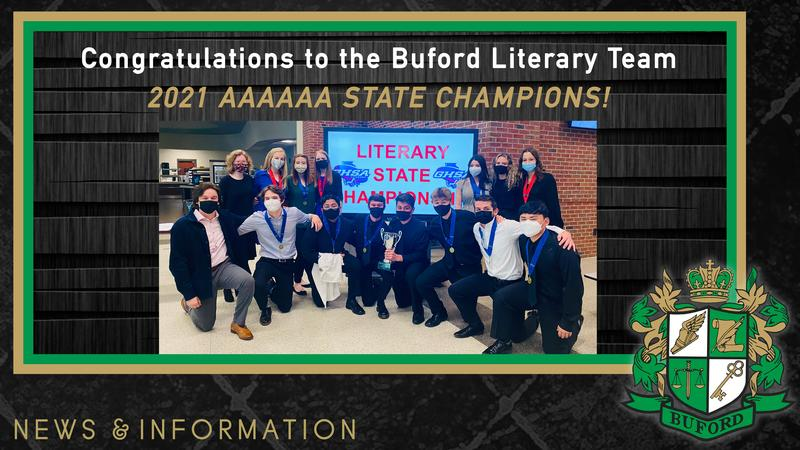 2021 Literary State Champions! Featured Photo