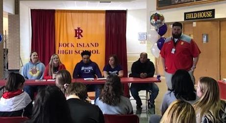 Rock Island High School Students Sign Letters of Intent Featured Photo