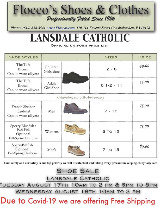Flocco's Shoe Sale @ LC August 17-18 Featured Photo