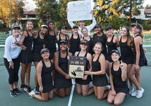 HBHS Tennis win