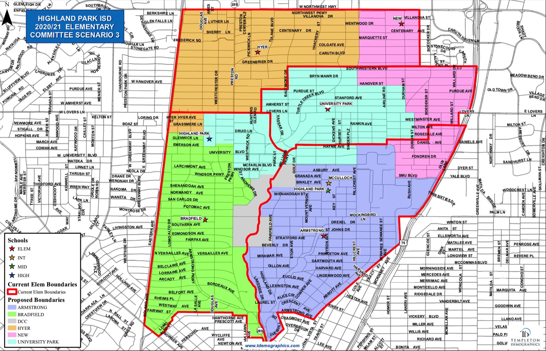 Committee Scenario 3 Map