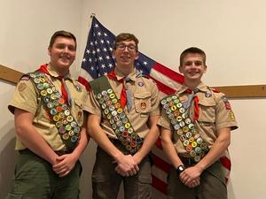 pic of 3 boys in Scout uniforms