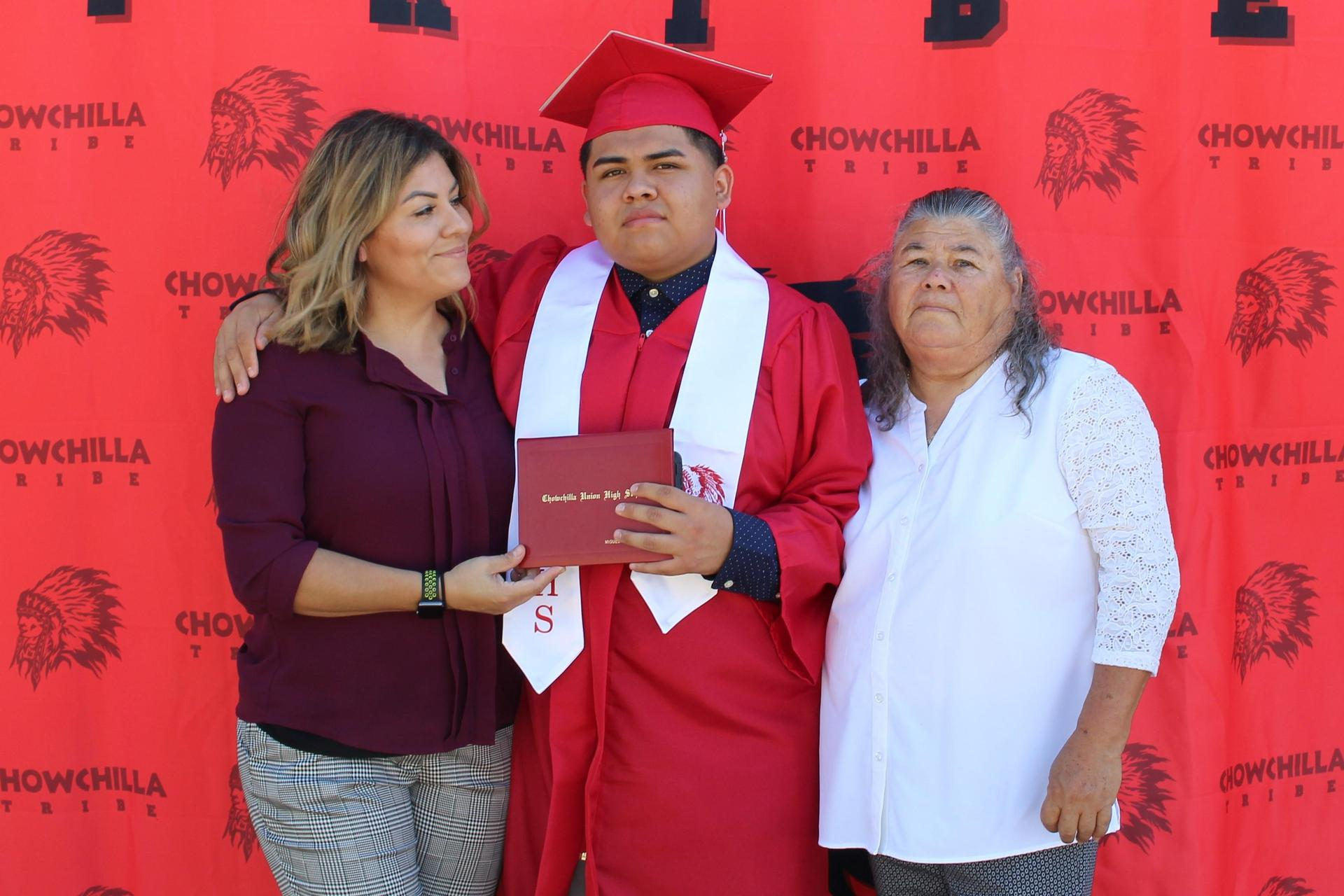 Miguel Quintero and family