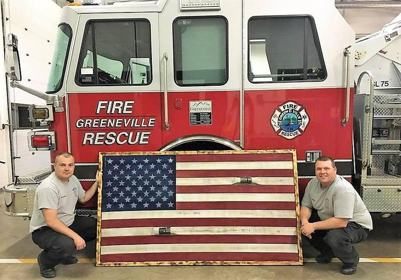 Flag and Firemen