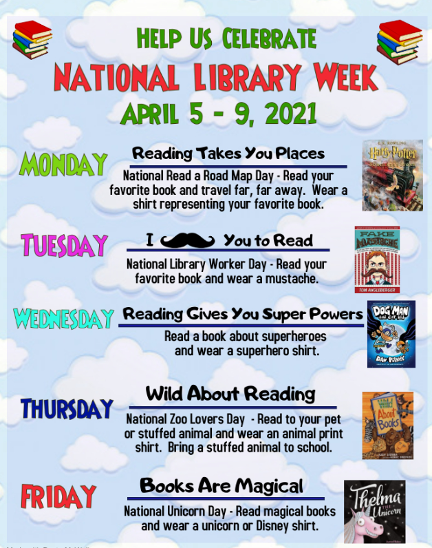 library week flyer