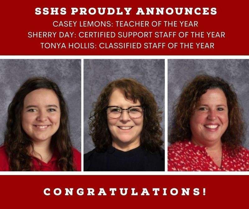 Congratulations to our SSHS 2021 Staff of the Year! Featured Photo