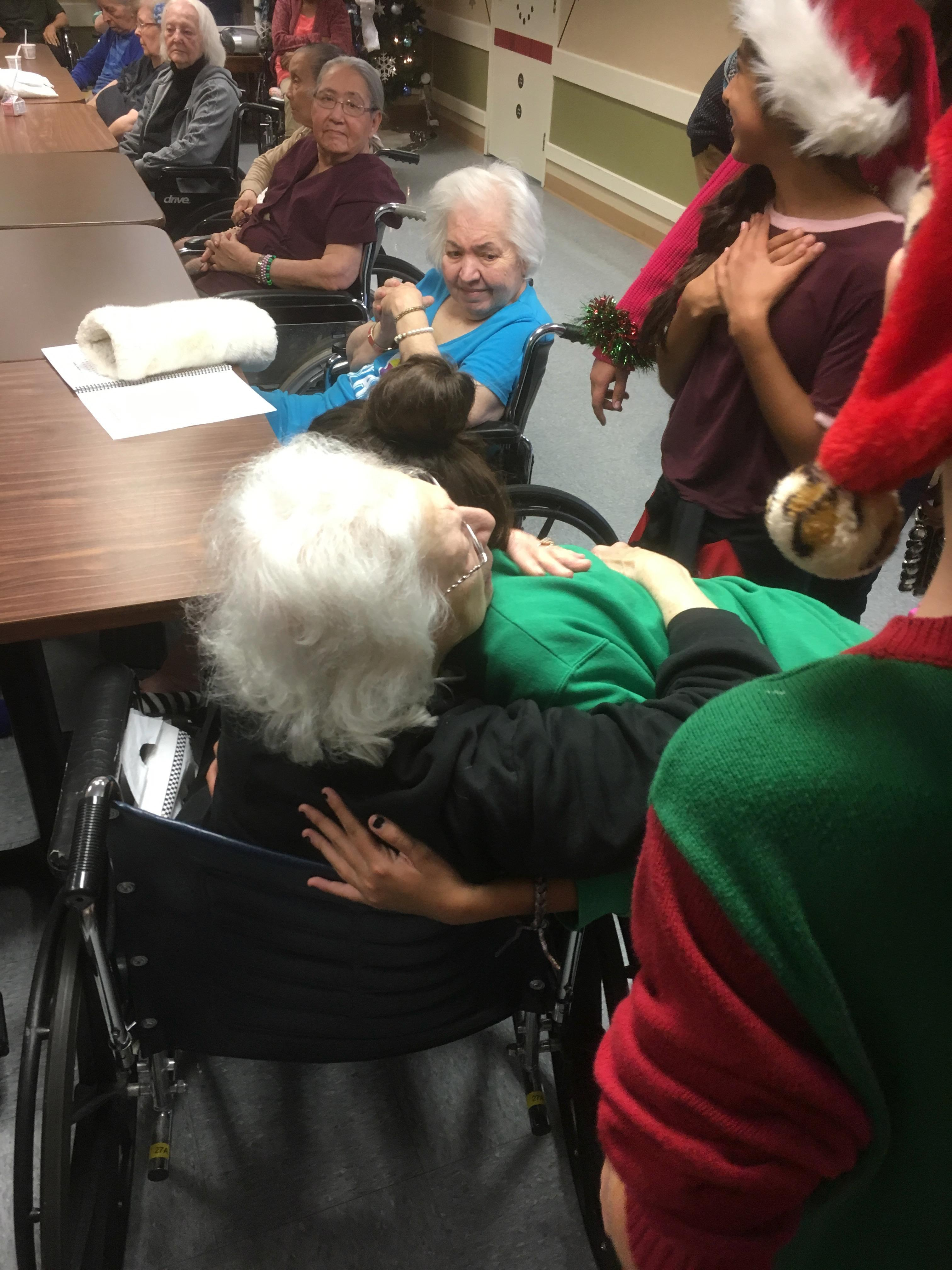Performing And Visiting Local Convalescent Homes