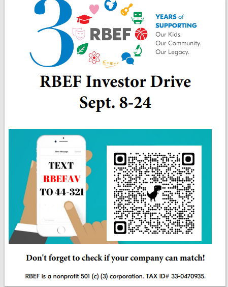 RBEF Investor Drive Featured Photo