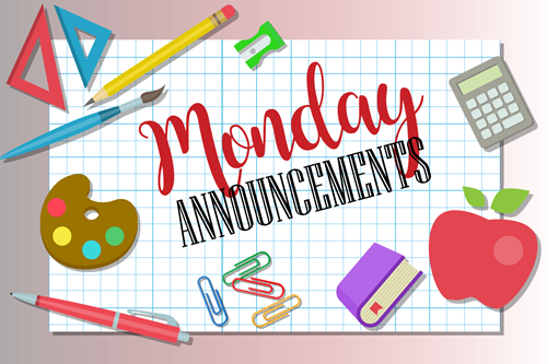 Maspeth High School Monday Announcements Featured Photo