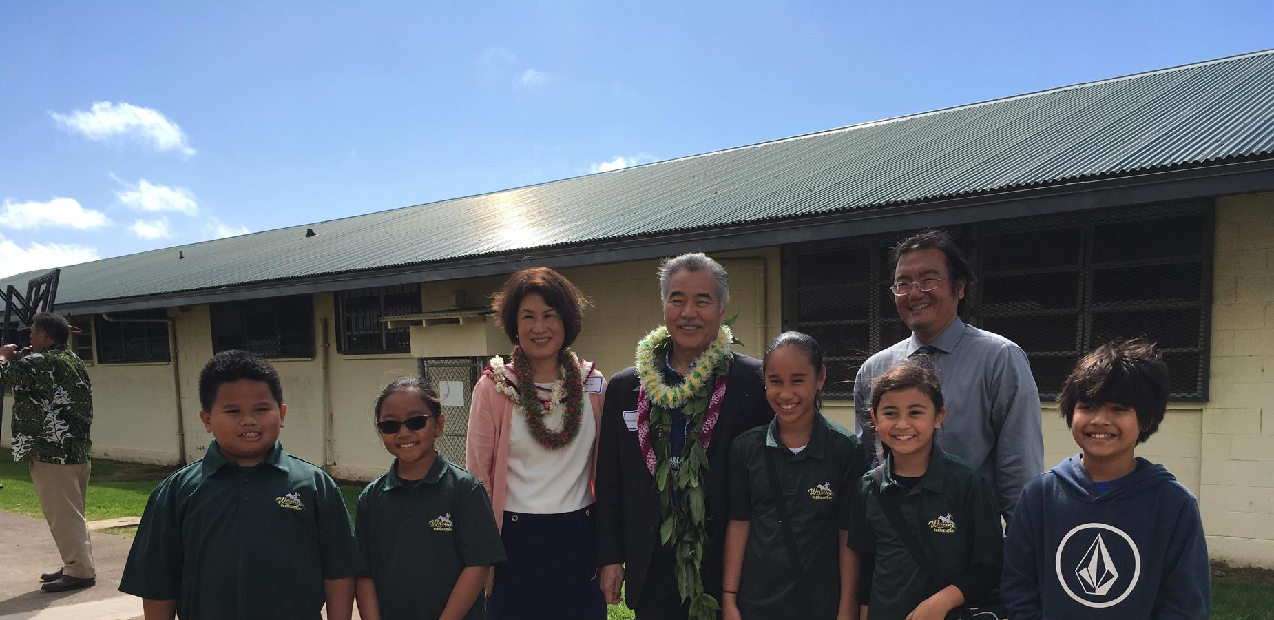 photo with Governor Ige