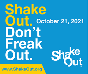 California Great Shakeout 2021