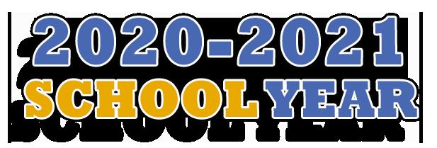 image of 2020 2021 school year logo