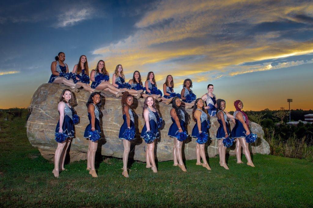 2019-2020 Dorman High Blue Belles