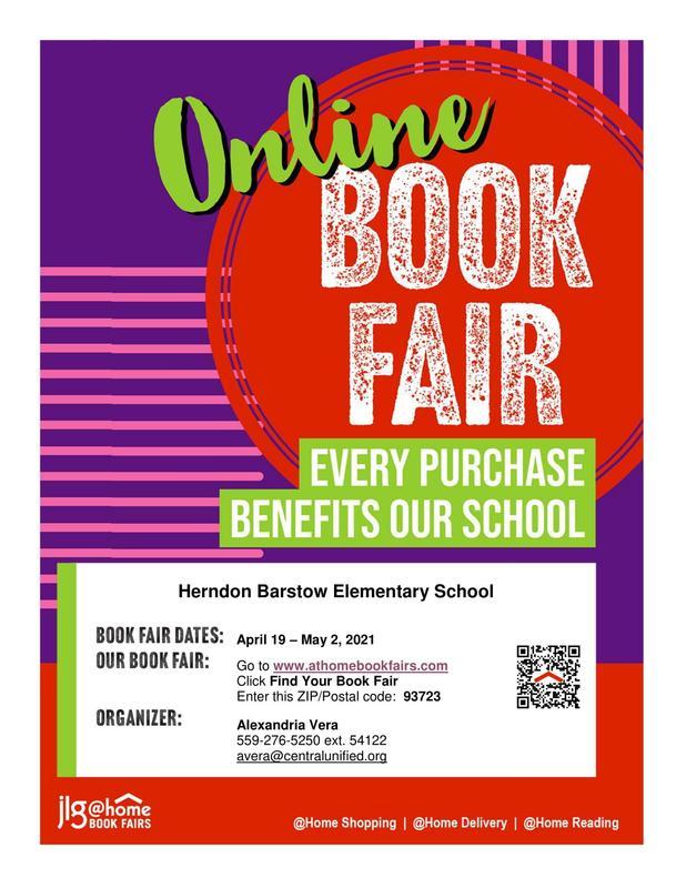 Online Book Fair Flier