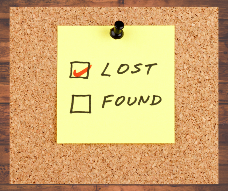 Our Lost and Found is Overflowing! Featured Photo