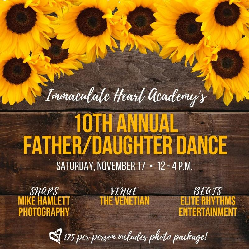 10th Annual Father/Daughter Dance - Nov. 17 Thumbnail Image