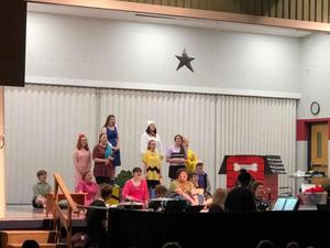 Spaulding students enjoyed the Goshen High School Drama Club's performance of You're a Good Man Charlie Brown!