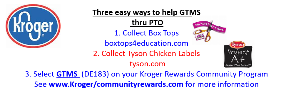 Ways to Help GTMS