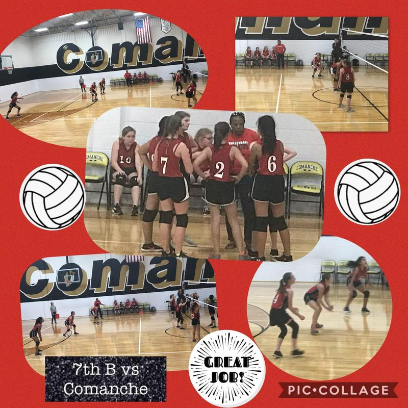 7th B Volleyball vs Comanche Thumbnail Image