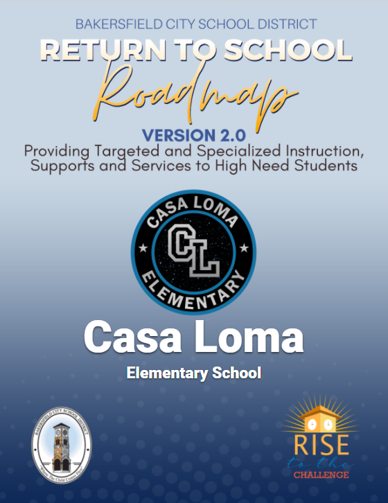 Casa Loma Return to School Roadmap