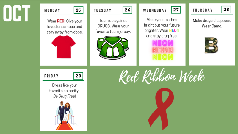 Celebrate Red Ribbon Week at BHS!! Featured Photo