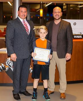 Willow Grove Student of the Month - November 2019 - Carter Bunjo