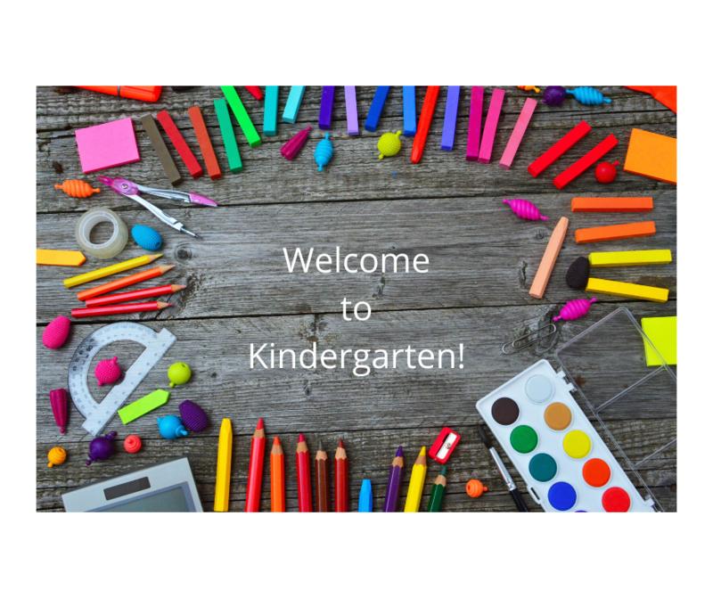 Art Supplies for Kindergarten