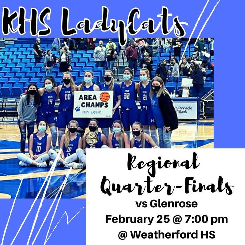 LadyCats Basketball Playoffs Featured Photo