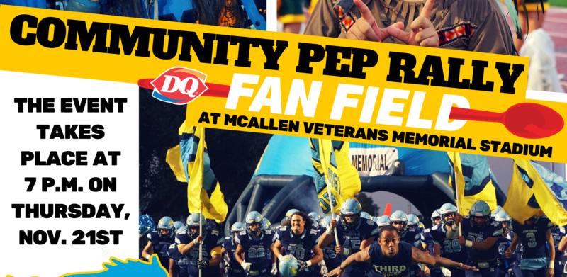 McAllen ISD Community Pep Rally