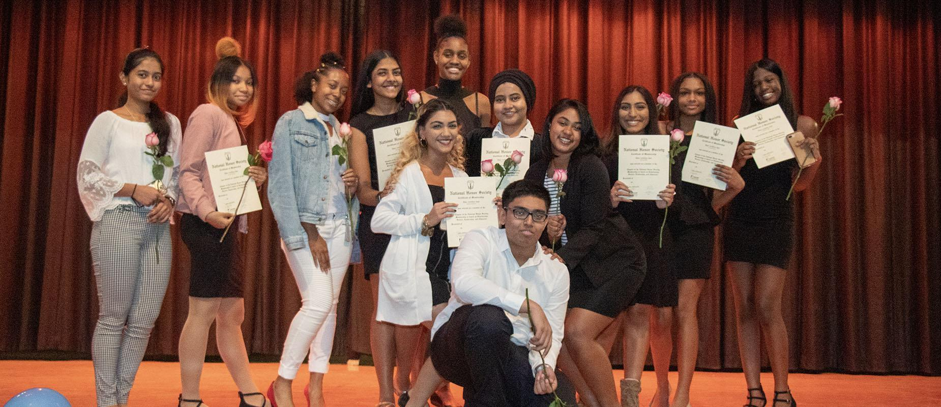 2019-2020 National Honor Society Induction Ceremony