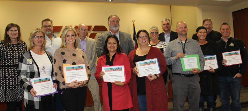 Principals honored by Trustees