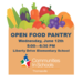 Open Food Pantry June 12th