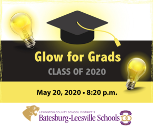 Lexington County school districts join together to 'Glow for Grads'