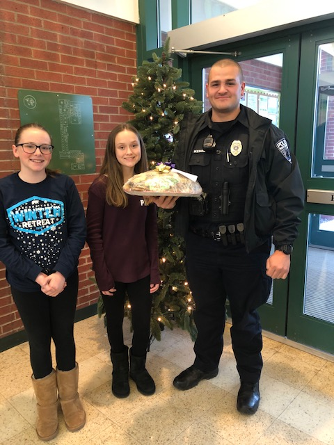Riverside Middle School Student Council appreciates our local first responders! Featured Photo