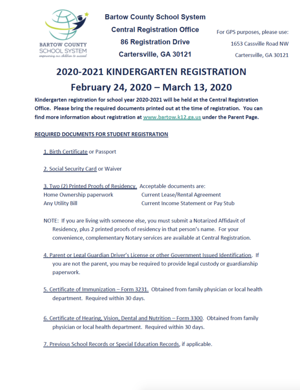 Registration starts Feb. 24, 2020, and ends Mar. 13, 2020.
