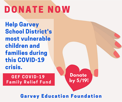 GSD COVID-19 FAMILY RELIEF FUND