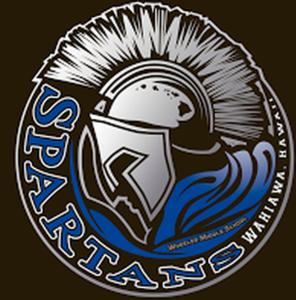 Wheeler Middle School spartan logo