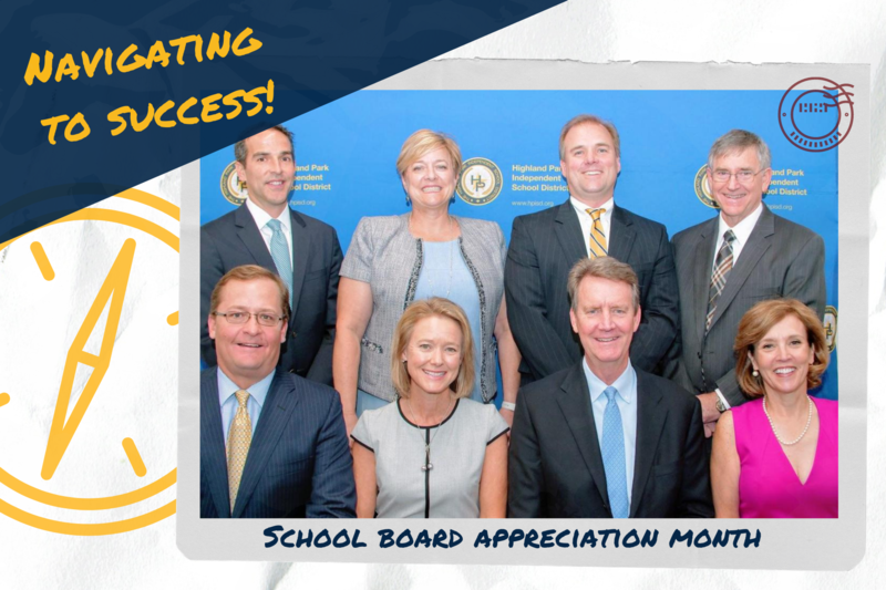 HPISD celebrates School Board Recognition Month Featured Photo