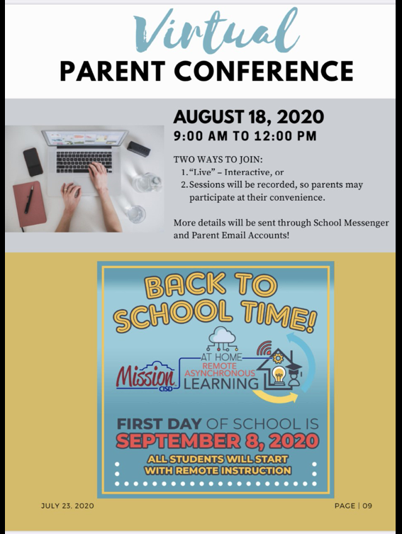 Virtual Parent Conference Featured Photo